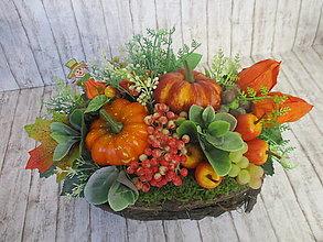 Dekorácie - Jesenná dekorácia - 13560113_
