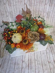 Dekorácie - Jesenná dekorácia - 13560153_