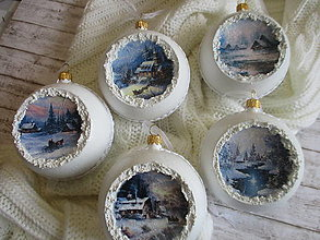 Dekorácie - Vianočné ozdoby - 13560578_