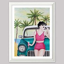 Obrazy - California dream grafika - 13561588_