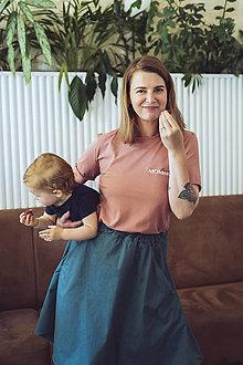 Tričká - Tričko na dojčenie Love MOMself - 13561667_