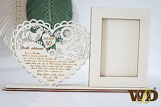 Dekorácie - Výročie svadby  - 13563690_