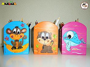 Pomôcky - Stojan - na ceruzky - 13562034_