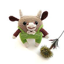 Hračky - Býček El Toro - háčkovaná hračka zvieratko - 13562834_