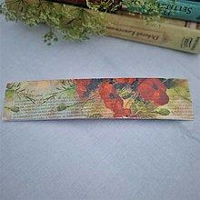 """Papiernictvo - Záložka do knihy """"Divé maky"""" - 13564177_"""