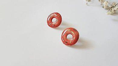 Náušnice - Donutky - 13566045_
