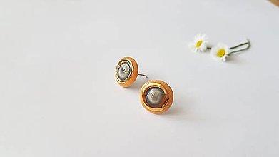 Náušnice - Porcelánové náušničky - 13566109_