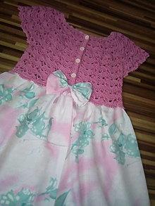 Detské oblečenie - Dievčenské šaty - 13566975_