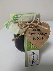 Potraviny - Džem - Štyri druhy ovocia - 13567447_