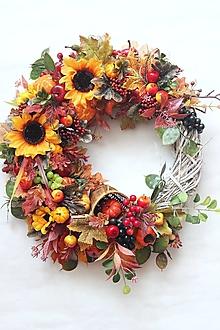 Dekorácie - Veniec jesenné plody3 - 13564533_