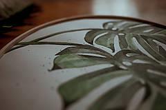 Grafika - kruhový obraz MONSTERA - 13567067_