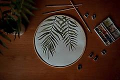 - kruhový obraz PALMA - 13567091_