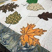 Úžitkový textil - obrus farby jesene - 13565148_