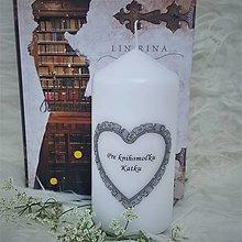 "Svietidlá a sviečky - Sviečka ""Knihomoľka Katka"" - 13567516_"