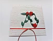 Papiernictvo - Pohľadnica ... 3 ruže k 70-tke - 13570127_
