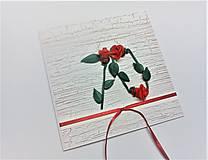 Papiernictvo - Pohľadnica ... 3 ruže k 70-tke - 13570129_
