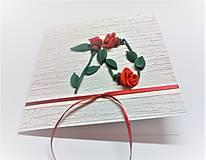 Papiernictvo - Pohľadnica ... 3 ruže k 70-tke - 13570132_