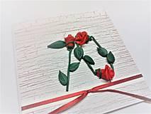 Papiernictvo - Pohľadnica ... 3 ruže k 70-tke - 13570134_
