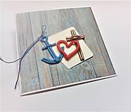 Papiernictvo - Pohľadnica ... viera, láska a nádej - 13570161_
