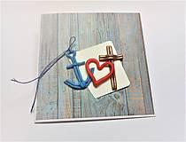 Papiernictvo - Pohľadnica ... viera, láska a nádej - 13570163_