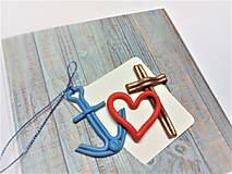 Papiernictvo - Pohľadnica ... viera, láska a nádej - 13570164_