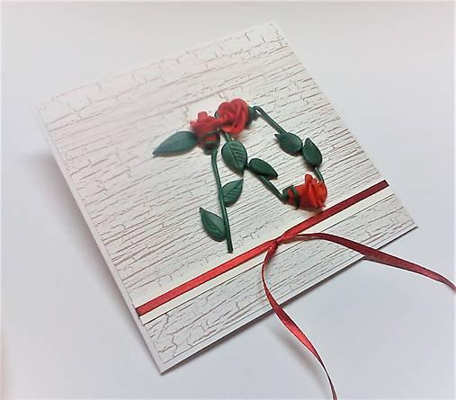 Pohľadnica ... 3 ruže k 70-tke