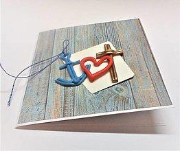 Papiernictvo - Pohľadnica ... viera, láska a nádej - 13570165_