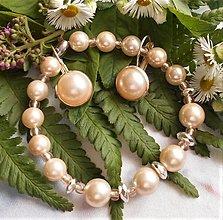 Sady šperkov - Riečne perly- strieborný hematit - 13568166_