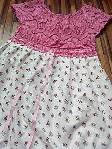 Detské oblečenie - Šaty dievčenské - 13568590_