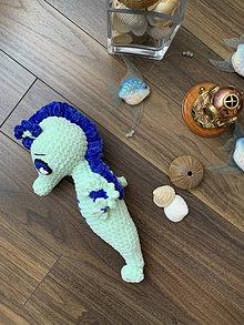 Hračky - morský koník MAXÍK - v zelenom 💚 - 13569819_