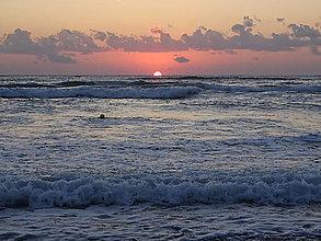 Fotografie - Pláž - Východ Slnka - 13568407_