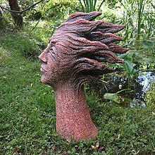 Socha - Hlava ve větru (větrnice) - 13571462_