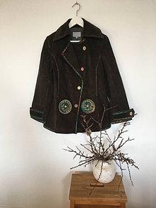 Kabáty - Kabát manchestrový veľ.38 - 13572194_