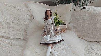 Bábiky - Tilda - Anjel - 13572220_