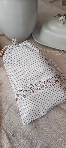 Úžitkový textil - Bavlnené vrecko do domácnosti_ ekoobal - 13572243_