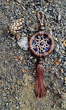 Dekorácie - Mandala relaxácie a spokojného spánku - 13572121_