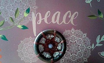 Dekorácie - Mandala sústredenia a komunikácie - 13572186_