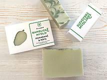 Drogéria - Bambucké mydlo POMARANČ & MÄTA - 13571505_