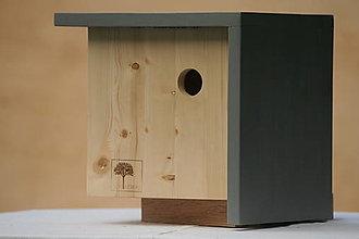 Pre zvieratá - Vtáčia búdka štvorcová - 13571376_
