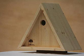 Pre zvieratá - Vtáčia búdka trojuholníková - 13571584_