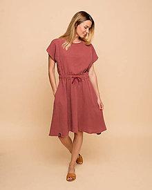 Šaty - Mušelínové šaty Ignis - 13571678_
