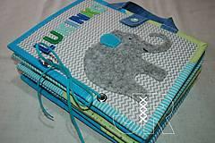 Hračky - Predná a zadná - sloník - 13571306_