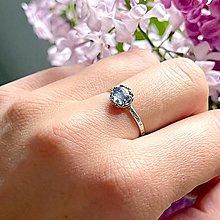 Prstene - Natural Tanzanite Ag925 Silver Ring  / Strieborný prsteň s prírodným tanzanitom - 13573736_