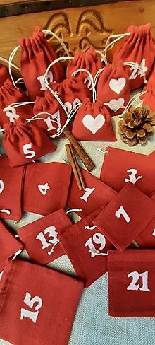 Dekorácie - Adventný kalendár - 13574570_