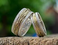 Prstene - Prepletené cesty osudu ... AgAU varianta s runami - 13579109_