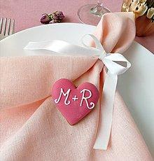 Darčeky pre svadobčanov - Malé srdce - 13576693_