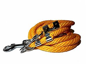 Pre zvieratká - Vodítko prepinacie Yellow, 14 mm, délka 2,3 m - 13578018_