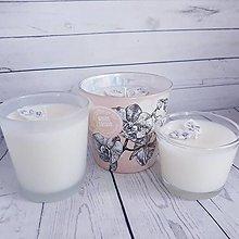 Svietidlá a sviečky - Sójové sviečky v recy svietničku - 13578675_