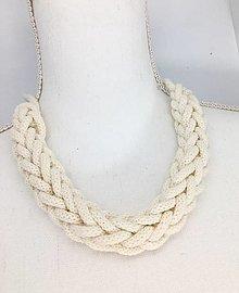 Náhrdelníky - letný náhrdelník SIMPLE - 13579776_