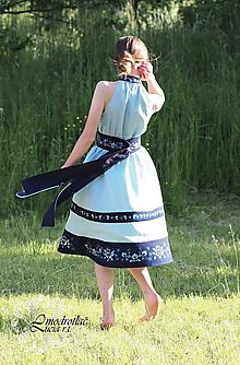 Šaty - Šaty MODROTLAČ - 13582621_